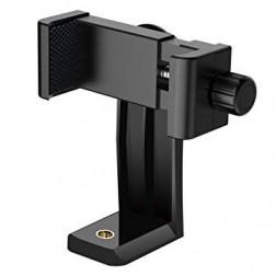 Fotocom vertikāli/horizontāli grozāms mobīlā telefona turētājs ar vītni stiprināšanai pie statīva