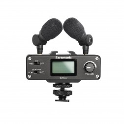 Saramonic CaMixer Audio interfeiss ar Phantom Power DSLR video
