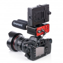 Saramonic SR-PAX1 2 kanālu audio mikseris ar Phantom Power