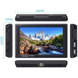 "Feelworld FW279 Ultra gaišs 7"" LED IPS Kameras Monitors 1920x1200px ar 4K atbalstu HDMI un 3G SDI"